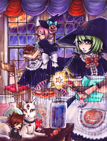 Halloween Treat Makers by Youkai-Yoko
