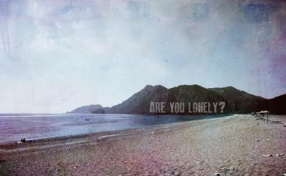 are you lonely? by BoraUludag