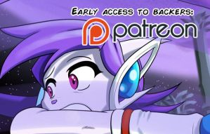 Patreon preview: Freedom Planet Betrayed the law by Gx3RComics