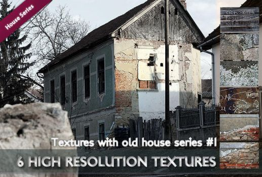 TexturePalace - Old house series 1# by texturepalace