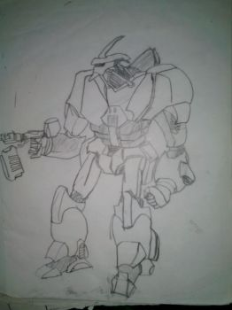 Mecha by wolf2014
