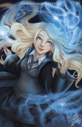 Harry Potter Luna Lovegood by SaintPrecious