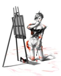 Ms Bad Painter by Roberto009
