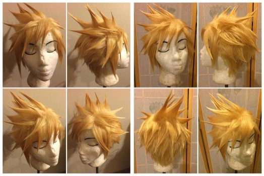 Cloud Wig from FFVII by taiyowigs