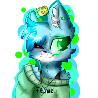  GIFT  The Fronnie Queen by CinnamonrollAkira