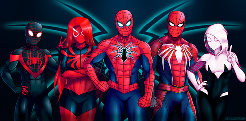Spiders commission by shamserg
