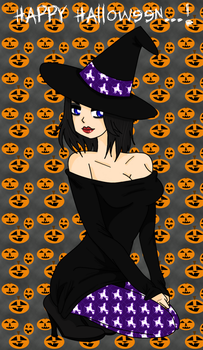 Halloween Witch by LovelyGioia