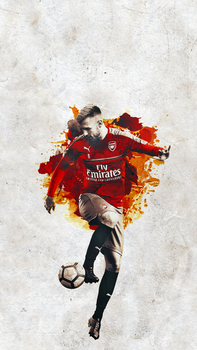Aaron Ramsey by Lagvilava