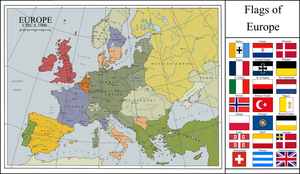 Karlsreich Europe in 1900 AD by cjr413