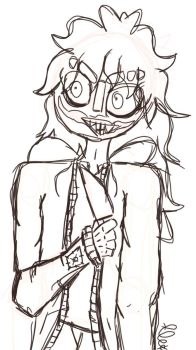 Jeff the killer W.I.P by THEREALENDERSKY