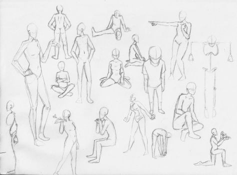 Poses by guardian-angel15