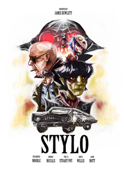 stylo film poster by omoulo