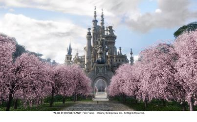 The Castle of the White Queen by AliceInWonderland