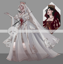 [Adopts] Ghost Queen || USD/AUC | Closed by skele-tea