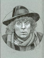 The Fourth Doctor from Doctor Who by sarahwilkinson