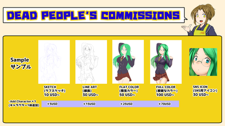 Commission Sheet by deadpeople97