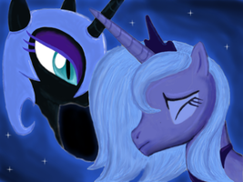 Princess of the Night (Colored) by DragmodNotloc