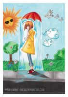 Raining On Me. '07 by ember-snow