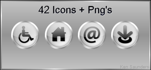 Web Icons by KenSaunders