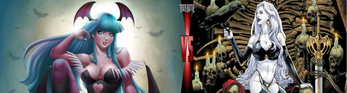 DEATH BATTLE: Morrigan Aensland vs Lady Death by VivaAnimals2000