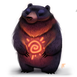 Day 567. Sun Bear by Cryptid-Creations