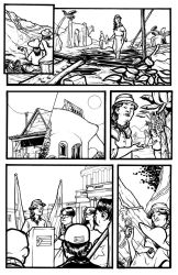 Pages for a Puerto Rico benefit! 2 by michaelharris