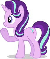 Mlp Fim Starlight Glimmer (...) vector #4 by luckreza8
