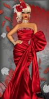 Elegance in Red by divachix