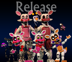 the plastic foxy's (release) by SupSorgi