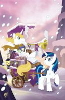 My Little Pony Friends Forever 26 Cover by TonyFleecs