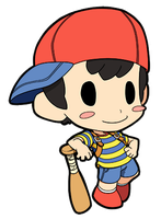 Earthbound Ness by JoeOiii