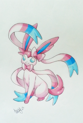 - Sylveon - by BioV-xen