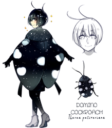 Domino Cockroach by Cioccolatodorima