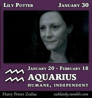 Lily Potter - Aquarius by GeorgeWiseman