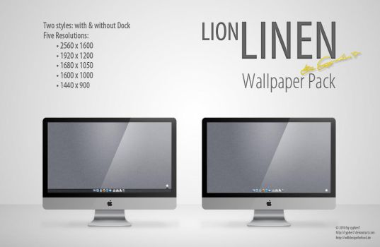 Lion Linen by cypher7