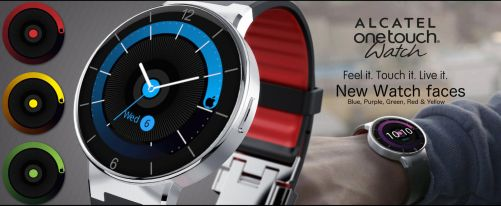 Watchface Speaker for Alcatel OneTouch by angeluson