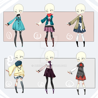 [CLOSED] Outfit adopts 03 [Set price] by aririzia