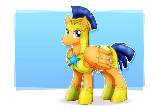 Flash Sentry_Pony Guard by jotakaanimation