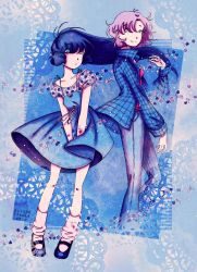 Together in Blue by AlyssaStehle