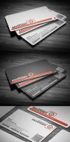 Safe point corporate Business Card by calwincalwin