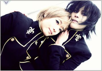 Code Geass:Lamperouge Brothers by rosiael