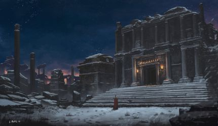 Ancient Temple by N8watcher