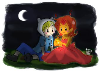 Adventure Time - FTH and FP by oranjielub