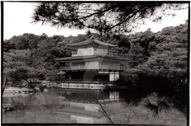 Kinkakuji by lrdcampbel