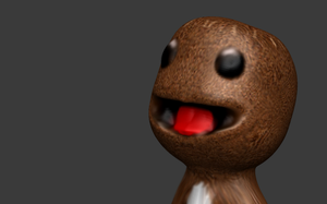 SACKBOY! Cute Little Big Planet 3D Sculpt Render by HomelessGoomba