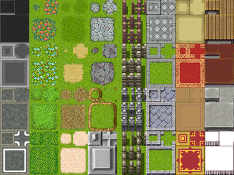 RPG Maker VX  ModernRTP TileA2 by painhurt