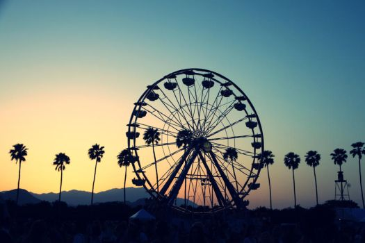 Coachella Sunset 2010 by cuzinmank