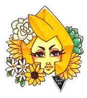 Diamante Amarillo by Karenali