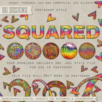 PS Style: Squared by HGGraphicDesigns