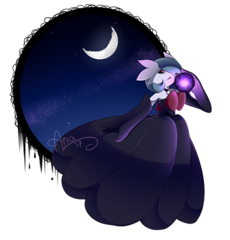 Queen of the night by BlueStarryGirl